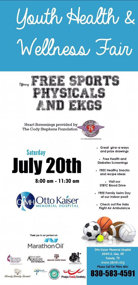 Sports Physicals at Otto Kaiser